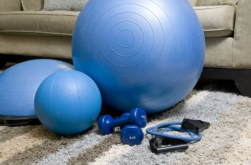 exercise gears at home
